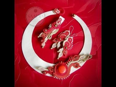 Soutache jewelery II - SAADIA - biżuteria sutasz II