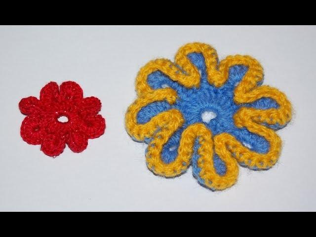 Kwiatek na szydełku - jak zrobić ? podstawy szydełkowania