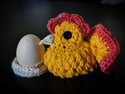 Kurka Wielkanocna na szydełku. cock on crochet