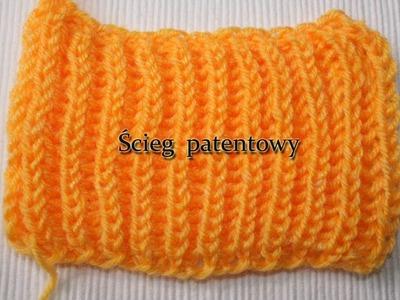 Ścieg patentowy, Brioche Stitch