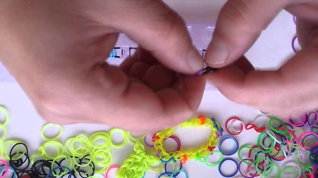 Jak zrobić bransoletkę z gumek - wzór