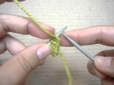 I cord bind off - sznurek na dole dzianiny