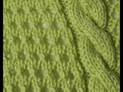 Jak ja to robię - sweter seledynowy - wzór