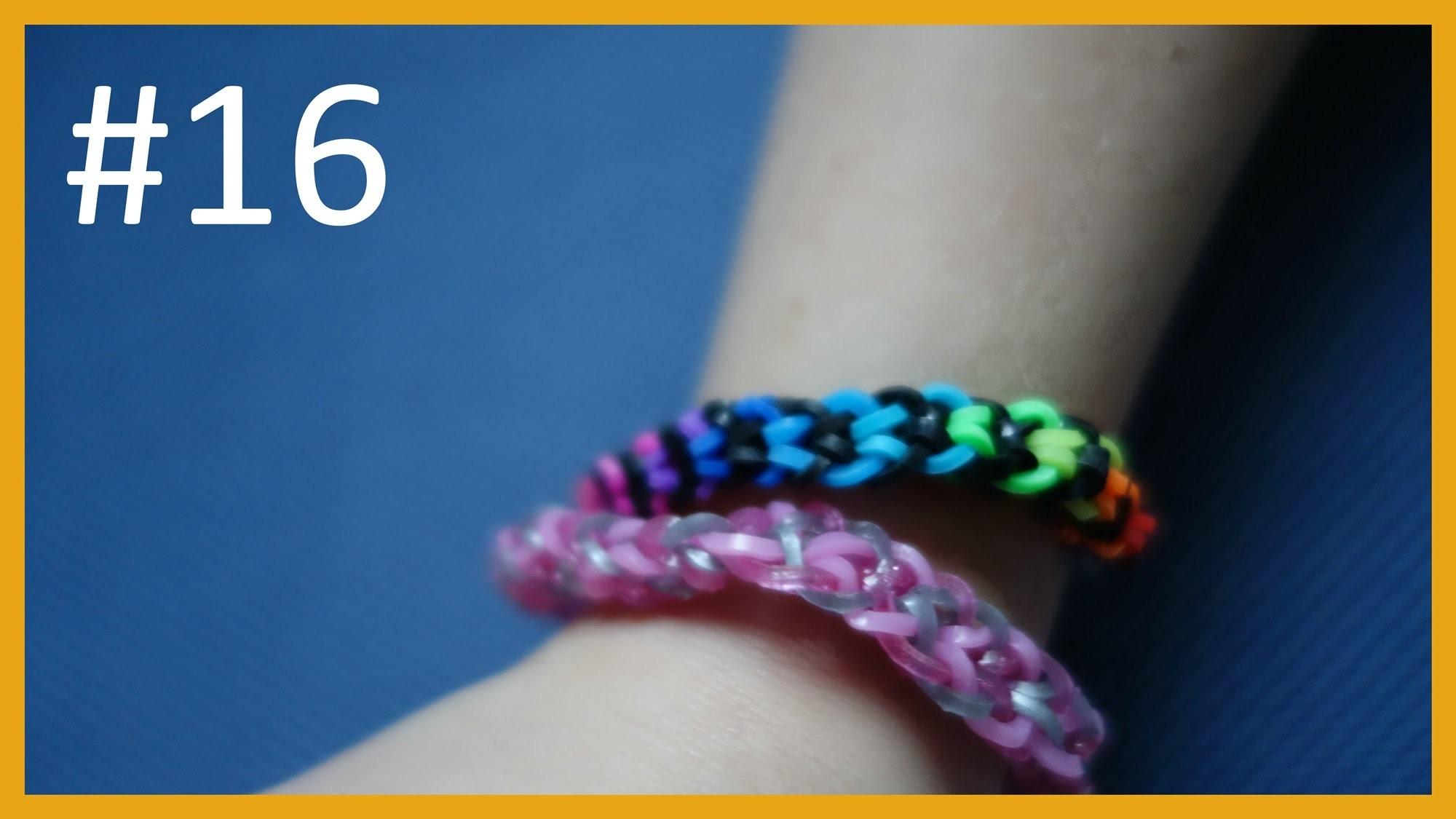 LEKCJA #16 - Gumki Rainbow Loom - MatyldaTV - bransoletki z gumek