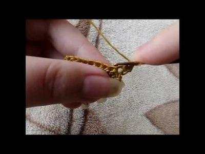 Maranta i szydełko - półsłupki luźne
