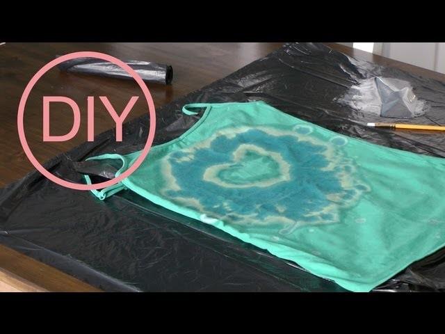 Spray dye T-Shirt - Jak tanio i łatwo przerobić koszulkę - Modowe DIY