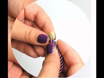 DIY : Jak zrobić bransoletkę ze skręcanego sznurka ?