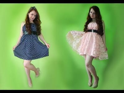 Sukienka ze starej spódnicy