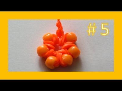 LEKCJA #5 - Gumki Rainbow Loom - MatyldaTV - tęczowy breloczek