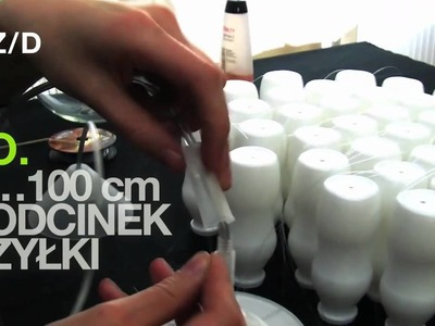 Z.d 001: lampa z buteleczek (zrób to sam!)