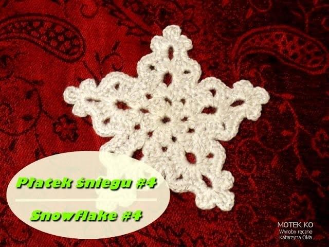 Płatek śniegu 4 | Snowflake 4