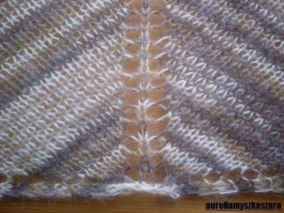 Chusta na drutach - jak zacząć.