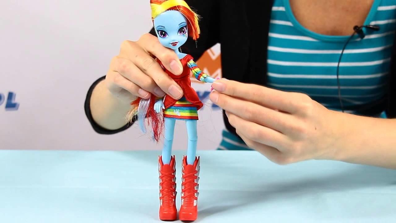 Rainbow Dash Doll. Lalka Rainbow Dash - Equestria Girls - My Little Pony - www.MegaDyskont.pl