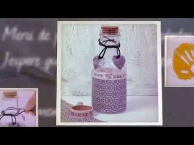 Decoupage na szkle DIY tutorial