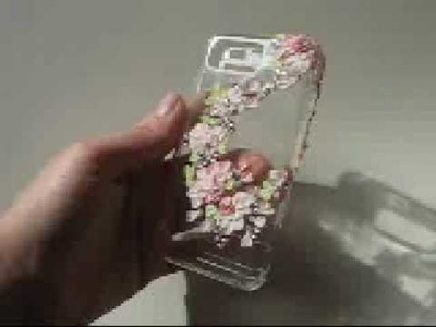 Amazing crystal case for Samsung Omnia! Incrusted with Swarovski crystals! Handmade by Filigri!