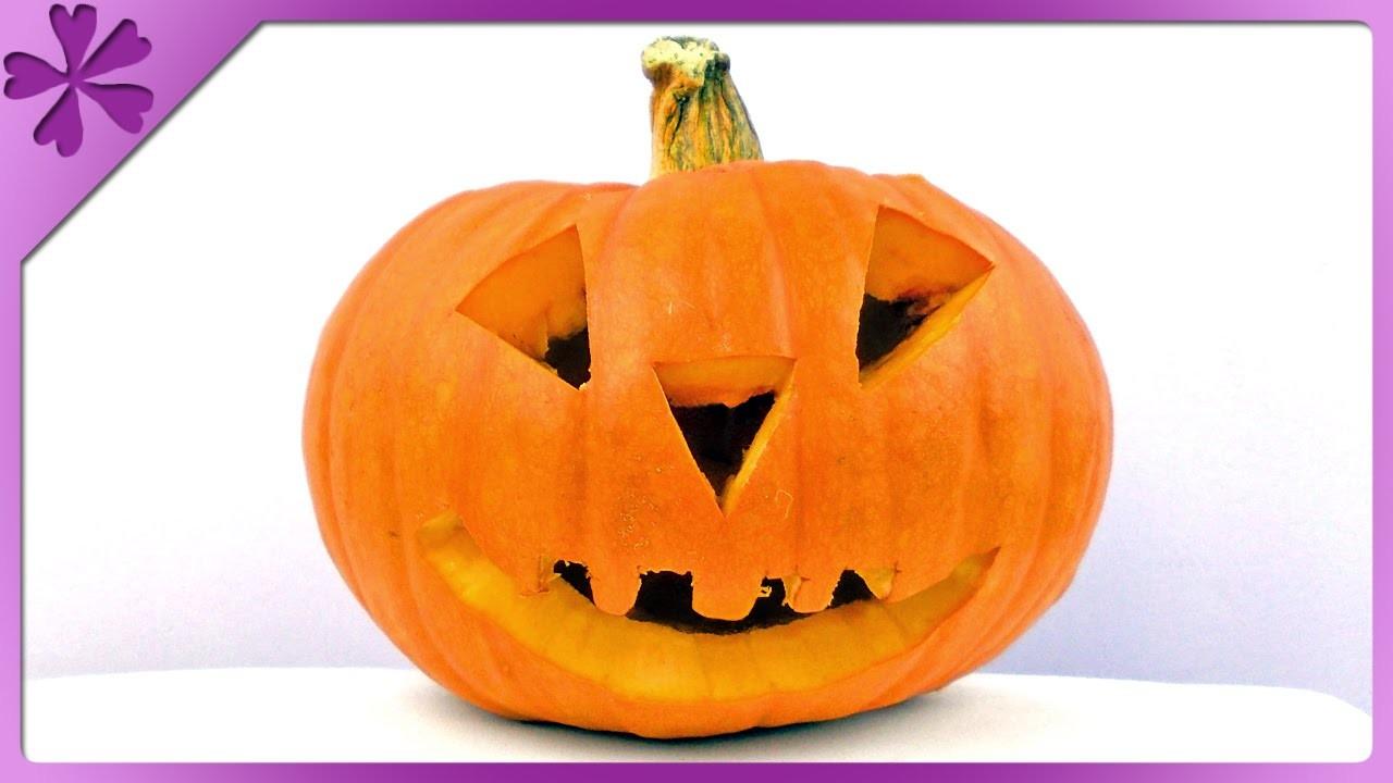 DIY Dynia na Halloween. Halloween pumpkin (+ENG Subtitles) - Na szybko #143