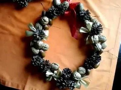 DIY  ,Boże Narodzenie ,świąteczne dekoracje wianki