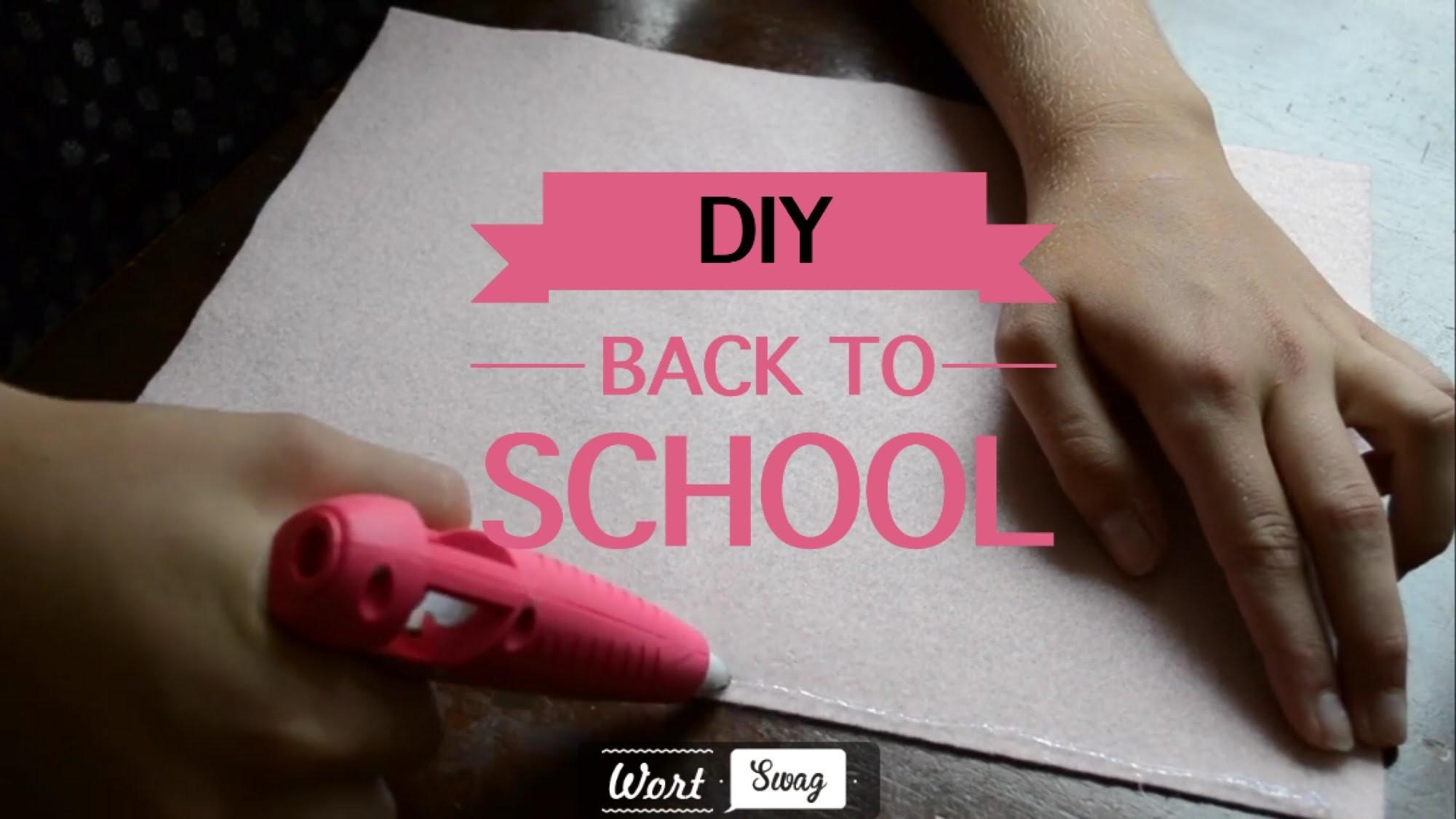 Back To School DIY Przybory Szkolne