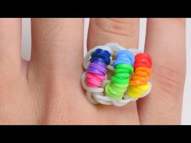 Prosty instruktaż jak zrobić pierścionek z gumek Rainbow Loom