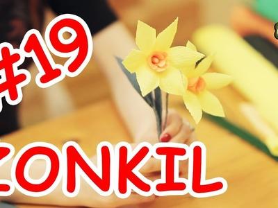 Kwiatki z bibuły #19 - żonkil