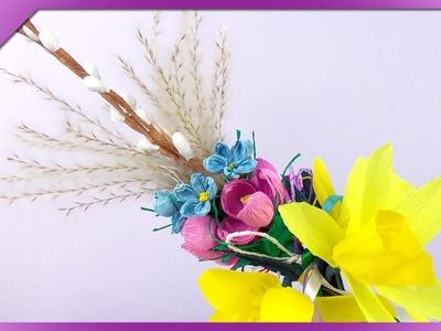 DIY Palma wielkanocna. Easter palm, Easter decoration (+ENG Annotations) - Na szybko #69