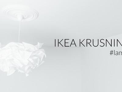 Lampa DIY - IKEA Krusning