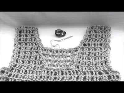 Top, bluzeczka na szydełku, rozm. 36. 38 - odcinek 3. 3