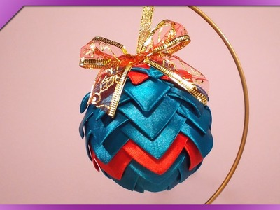 DIY Bombka karczoch. Artichoke Christmas ball (+ENG Annotations) - Na szybko #46