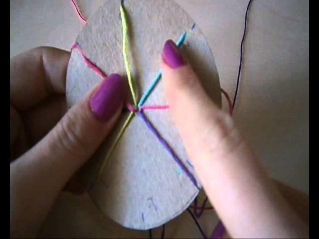 DIY:Prosta bransoletka z muliny :)