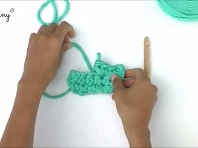 Bobbiny - dodawanie oczek. increasing crochet