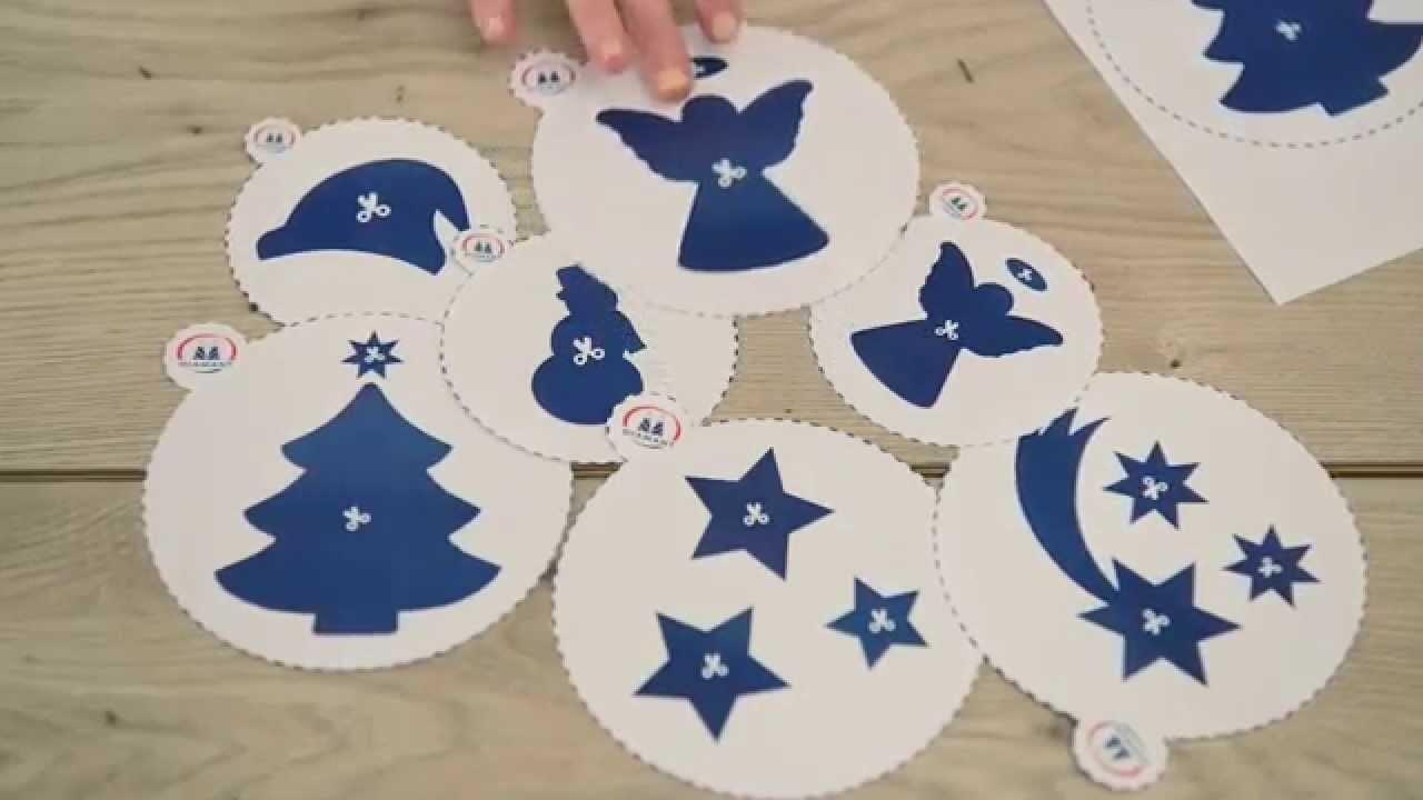 DIY Christmas Decoration decorating templates. Domowe szablony do dekoracji ciast - tutorial