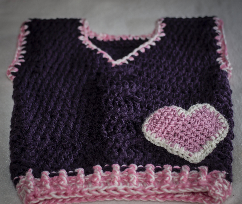 Kamizelka na szydełku cz  1. crochet vest part 1