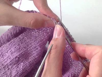 Sweterek na drutach - kurs krok po kroku - Tuba - cz.30