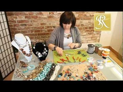 Royal-Stone - jak zrobić naszyjnik? Wklejanie tulejek, kurs robienia biżuterii
