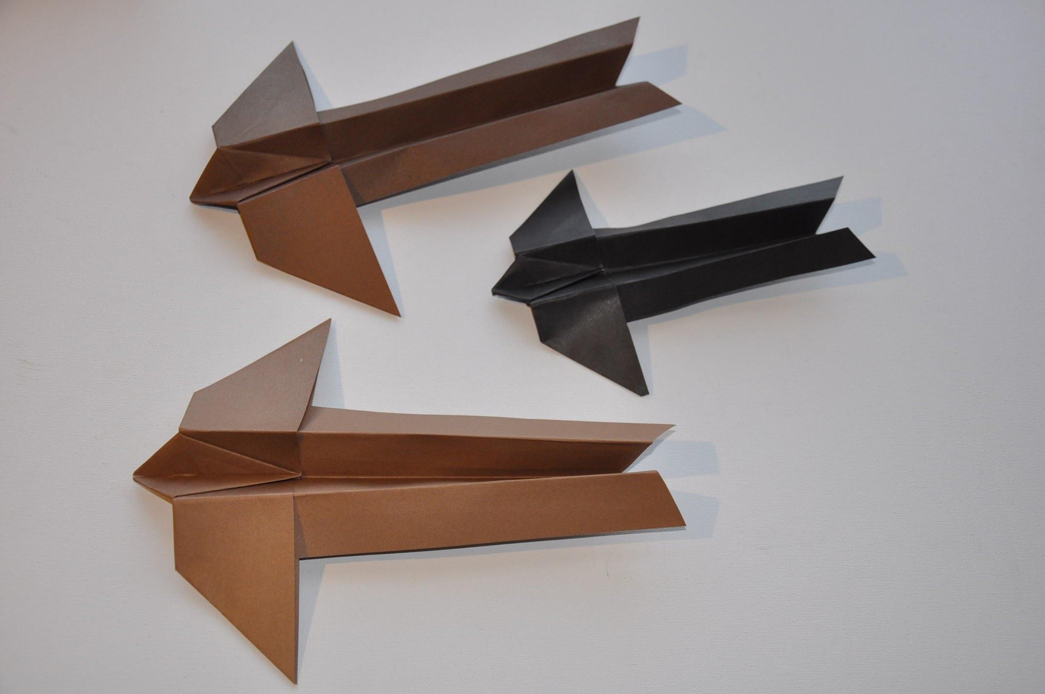 Samolot z papieru # Gołąb # Paper Plane DIY