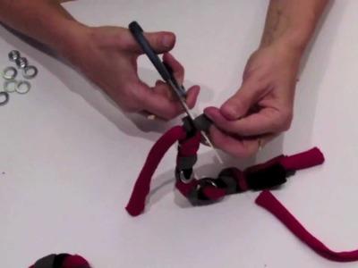 Jak zrobić bransoletkę z pończoszki (tutorial)