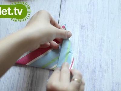 Serwetka kolorowy kwiat - KOTLET.TV