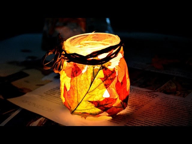 JESIENNY LAMPION DIY ♥