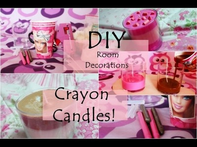 D.I.Y #4  Room Decorations  Crayon Candles!      anna-koper.blogspot.com