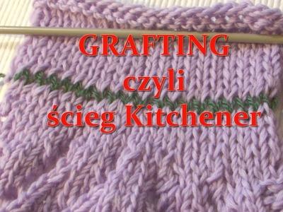 Grafting czyli ścieg Kitchener