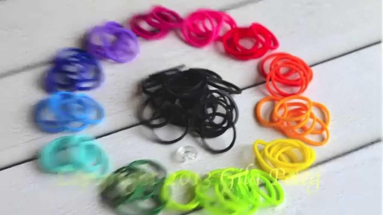 Jak zrobić kolorową bransoletkę na ręke - Rainbow Loom Bands