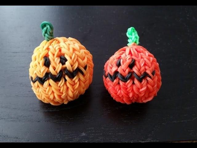 Dynia na Halloween- Rainbow Loom