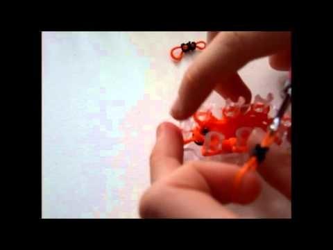 Rainbow Loom Uśmiechnięta buźka 3D