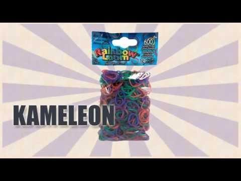 Oryginalne gumki Rainbow Loom® Kameleon