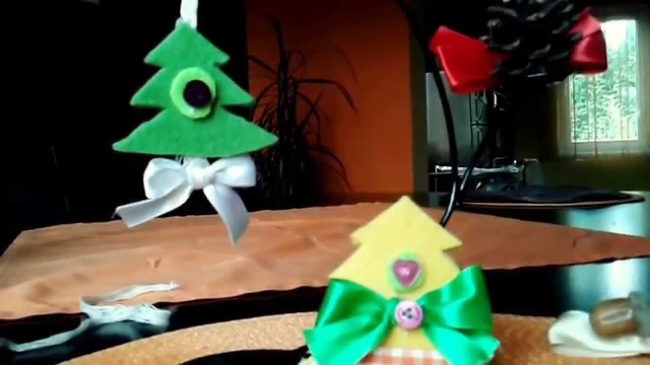 DIY  Boże Narodzenie , dekoracje .ozdoby z filcu,