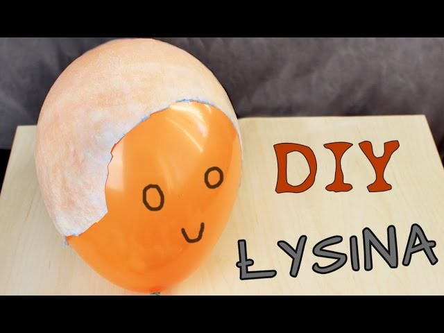 ♦ DIY łysina lateksowa na Halloween ♦
