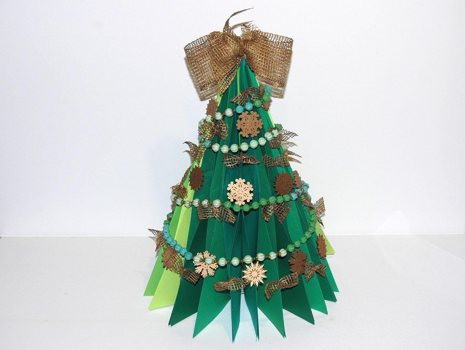 Jak zrobić choinkę z papieru. Christmas Tree  DIY