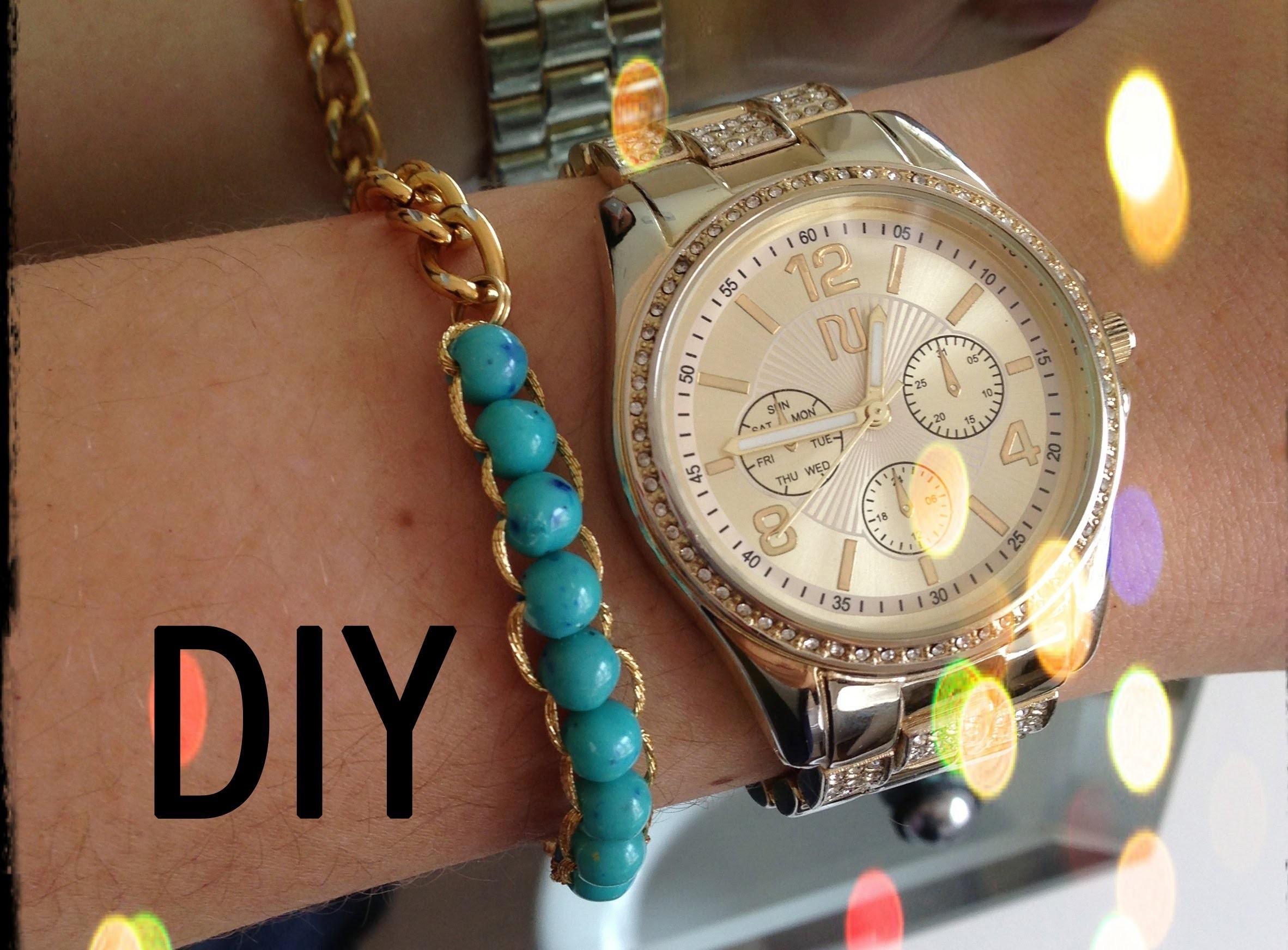 Jak zrobić bransoletkę? - Modowe DIY