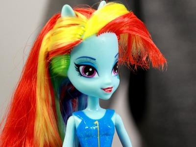 Rainbow Dash Doll. Lalka Rainbow Dash - Equestria Girls - My Little Pony - Hasbro