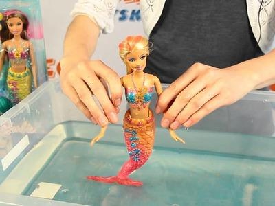 Syrena zmieniająca kolor - Kolorowa Syrenka - Barbie - www.MegaDyskont.pl - sklep z zabawkami